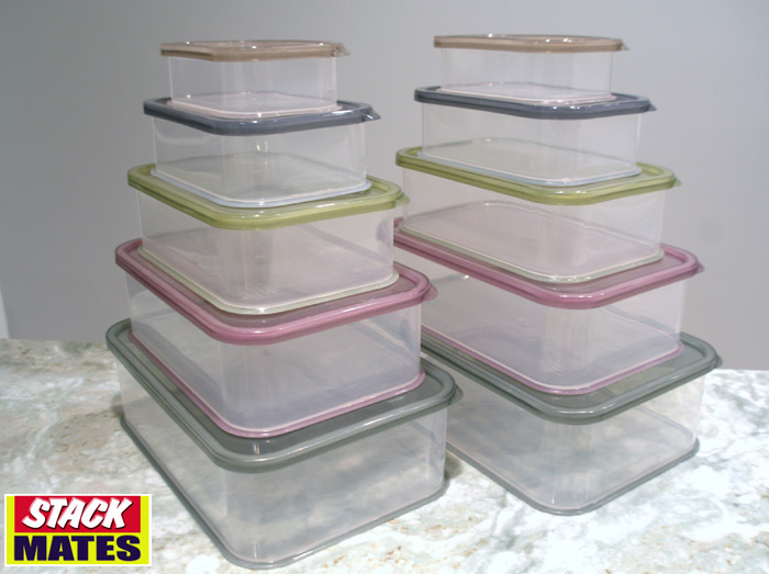 Stack Mates Offer Consumers the Ideal Food Storage Solution with