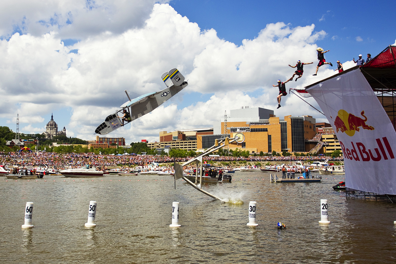 Red Bull Flugtag On The Wings Of Glory Premieres