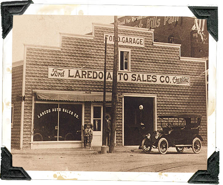 Sames Motor Company 1910In 1910, W.J.Sames won Texas' first dealership with a coin toss