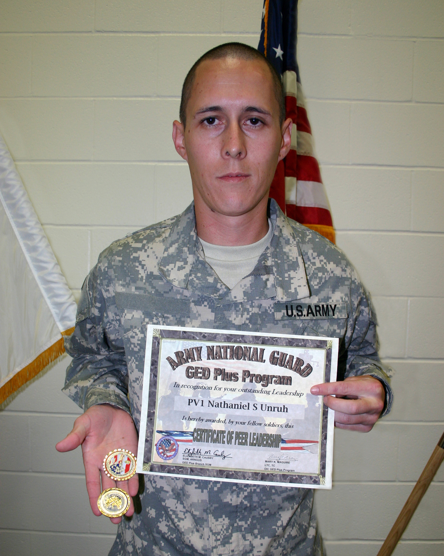 Can you join the national guard with a ged