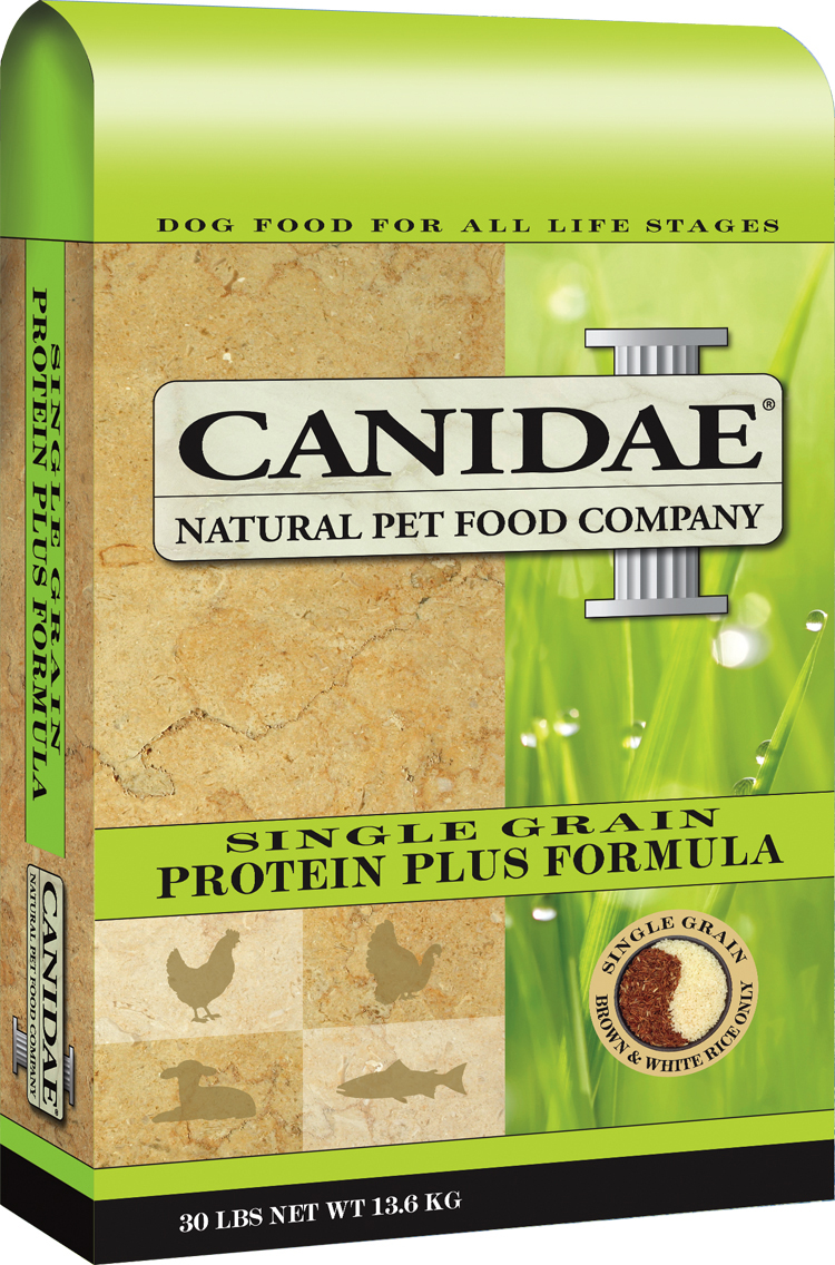 Canidae Pet Foods Launches New Single Grain Line Of