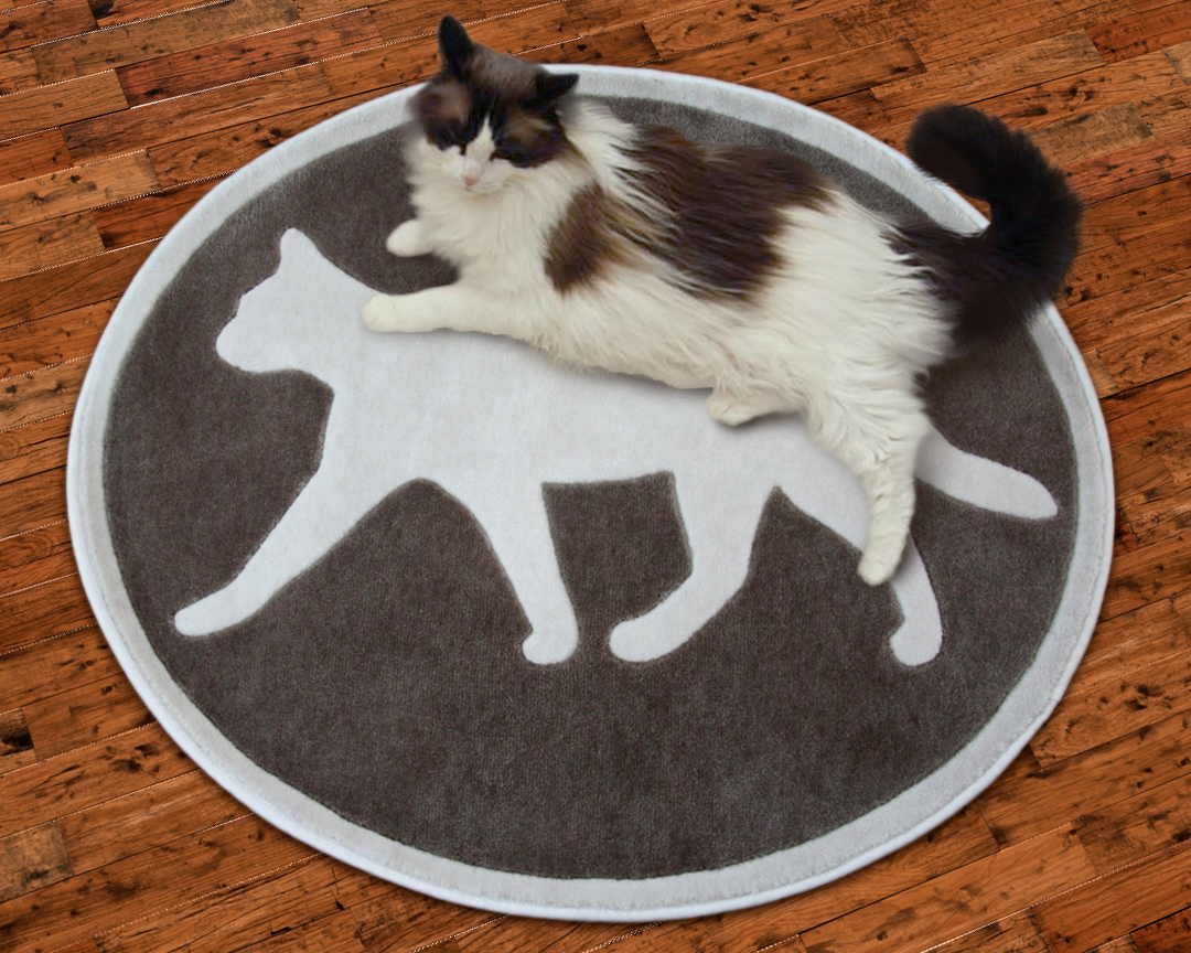 Petrugs Com Introduces New Area Rugs With A Feline Theme