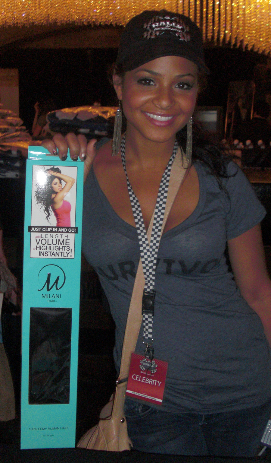 Milani Hair Proudly Sponsors Rally For Kids With Cancer Hosted By