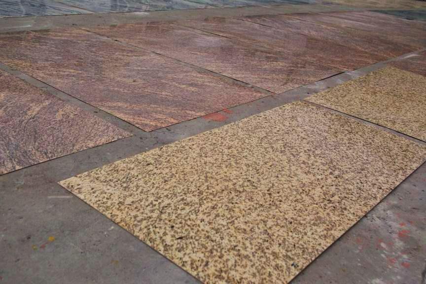 Earth Anatomy Thin Granite Veneer / Thin Panel GraniteThin Panel Granite ...