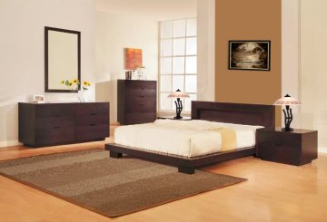 Bliss Low Profile Platform Bedroom SetBliss Low Profile Platform Bedroom Set  ...