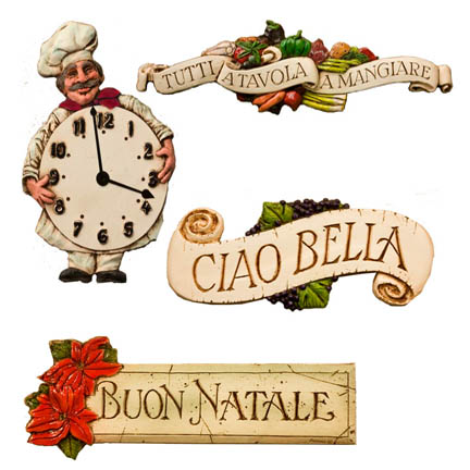 Kitchen Wall Plaques At Amazon