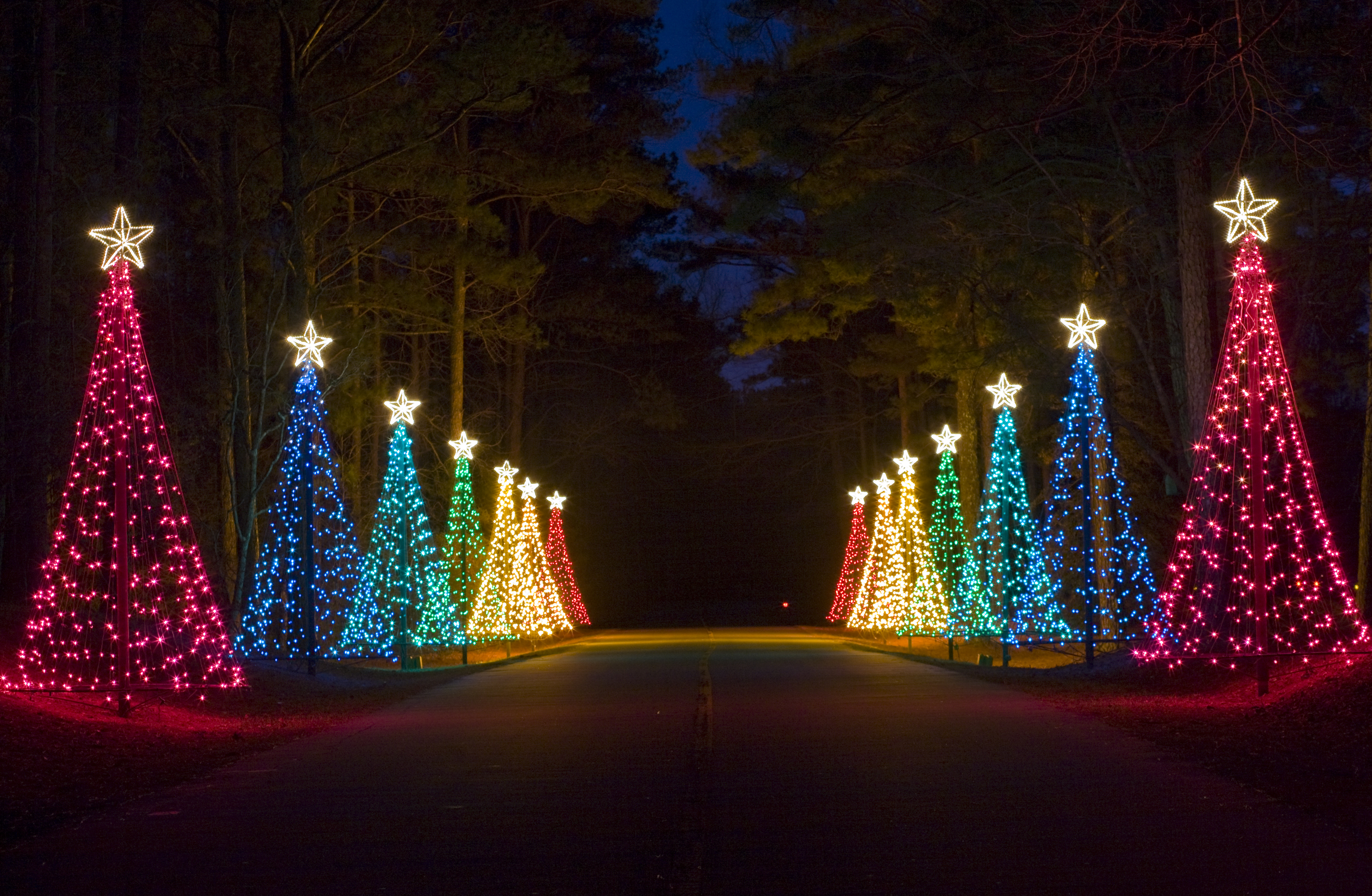 Fantasy In Lights At Callaway Gardens A Spectaular Light