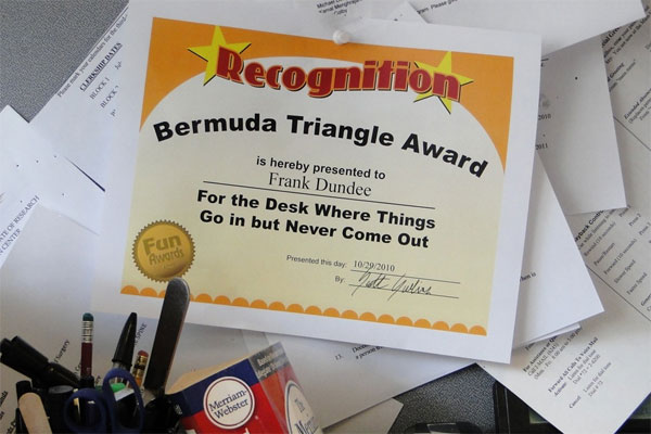 Funny Office Awards - 101 Funny Award Ideas for Employees