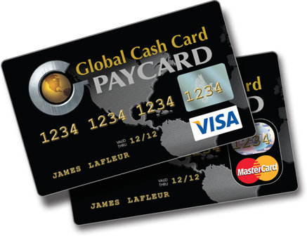 Prepaid Visa Card >> Global Cash Card Offers Two-Way Texting