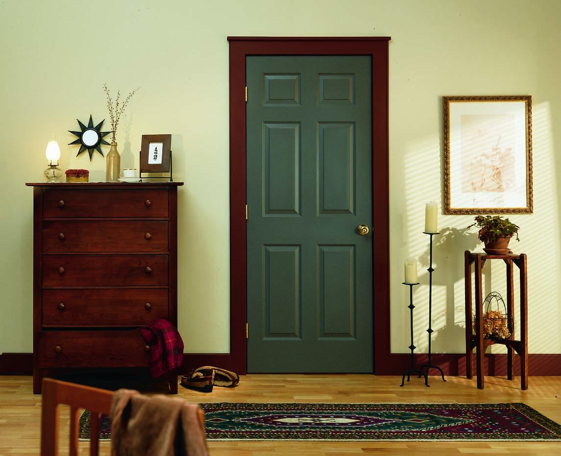 Attractive CraftMaster Colonist Six Panel Interior Door.