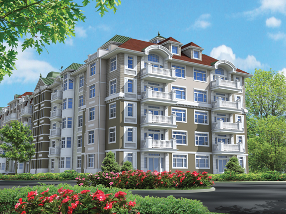 Completion Is Near For Parkside A New Luxury Apartment