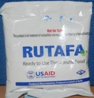 "RUTAFA, which translates ""will not die,"" is prescribed at health facilities to patients with acute malnutrition."