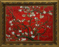 "Vincent van Gogh's ""Branches of Almond Tree in Blossom"" oil painting"