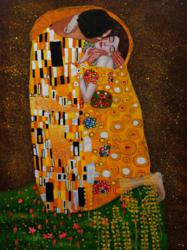 "Gustav Klimt's sensual masterpiece, ""The Kiss,"" tops overstockArt.com's 2011 Valentine's Day Top 10 Romantic Oil Paintings list."