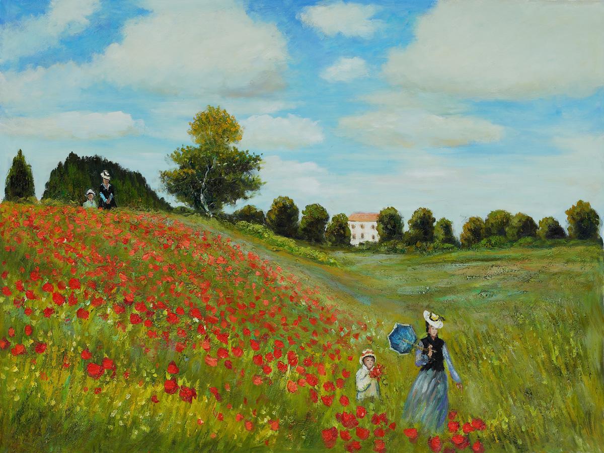 Poppy Flower Van Gogh Painting Flowers Healthy