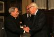 HRH Prince Victor Emmanuel of Savoy Honors Archbishop John J. Myers of the Archdiocese of Newark, New Jersey
