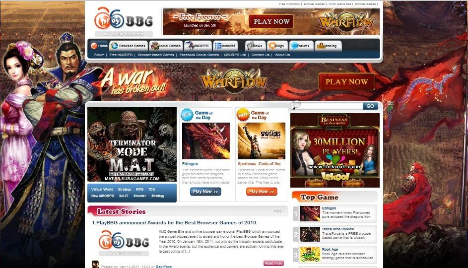 best web browser based games