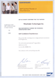 SAP Cloud Certificate