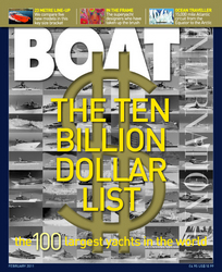 The 10 Billion Dollar List of 2011 - The Top 100 Superyahcts as featured in February's Issue of Boat International Magazine