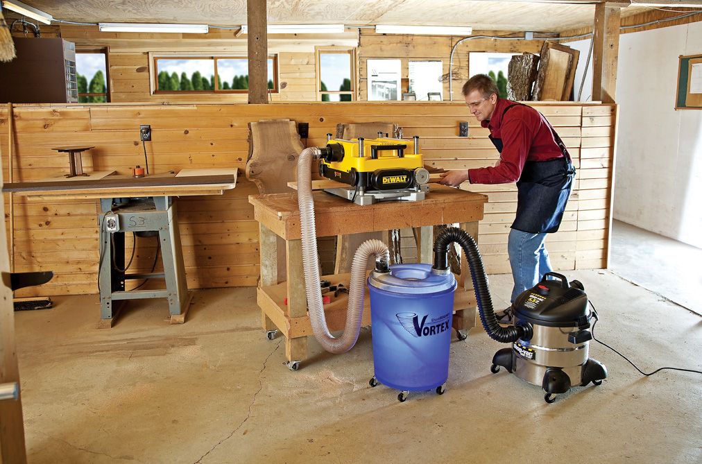 Rockler Introduces Dust Right Vortex Tm Converts A