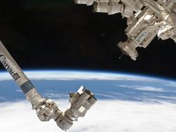 Canada's Canadarm and Dextre at work.