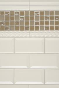 Cottage Lane Subway Tile 3 X 6 Beveled In Summer Beigecottage Ceramic Beige