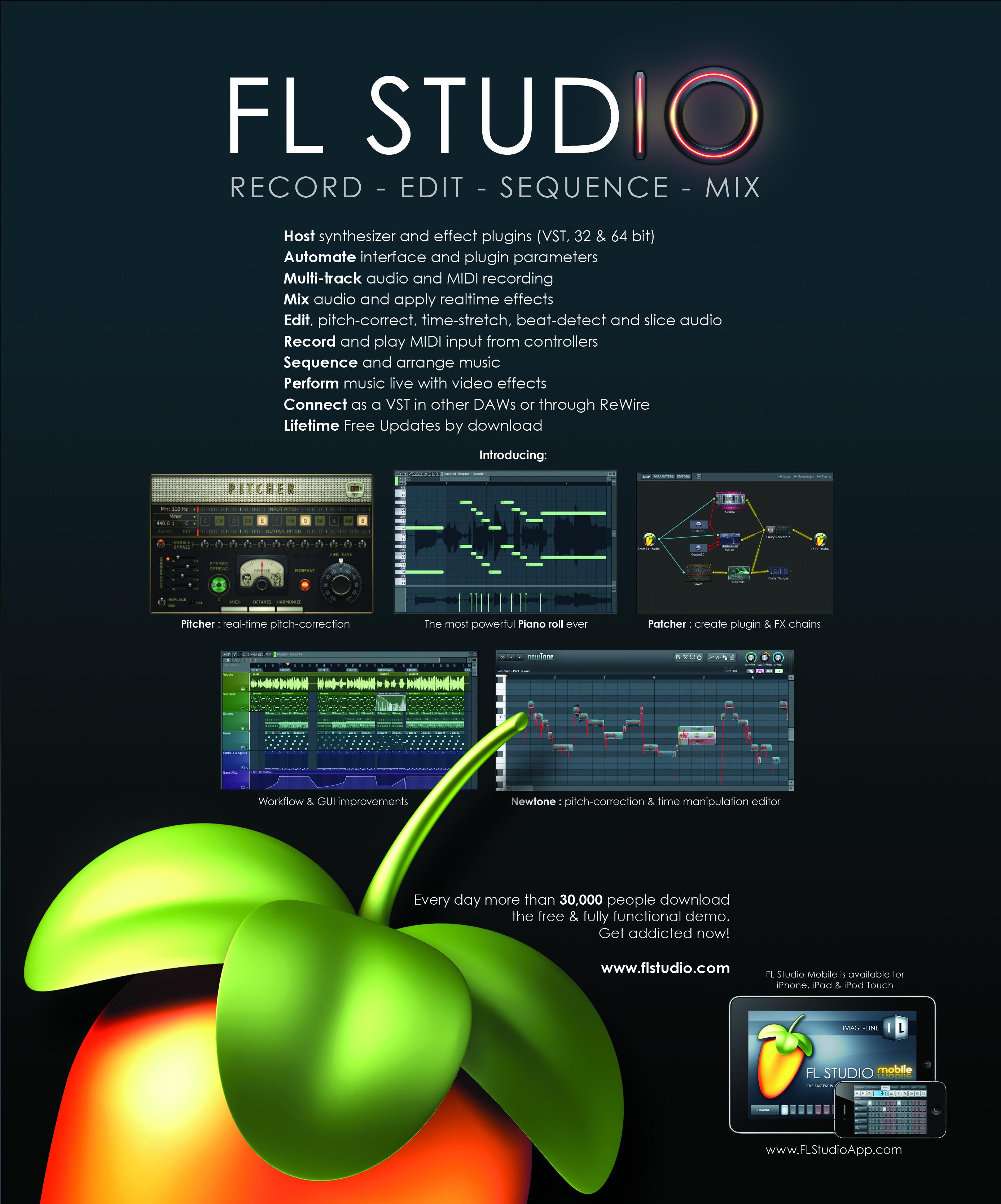 Frutty Loops Studio/FL Studio 10.0.8 Final Producer Edition English