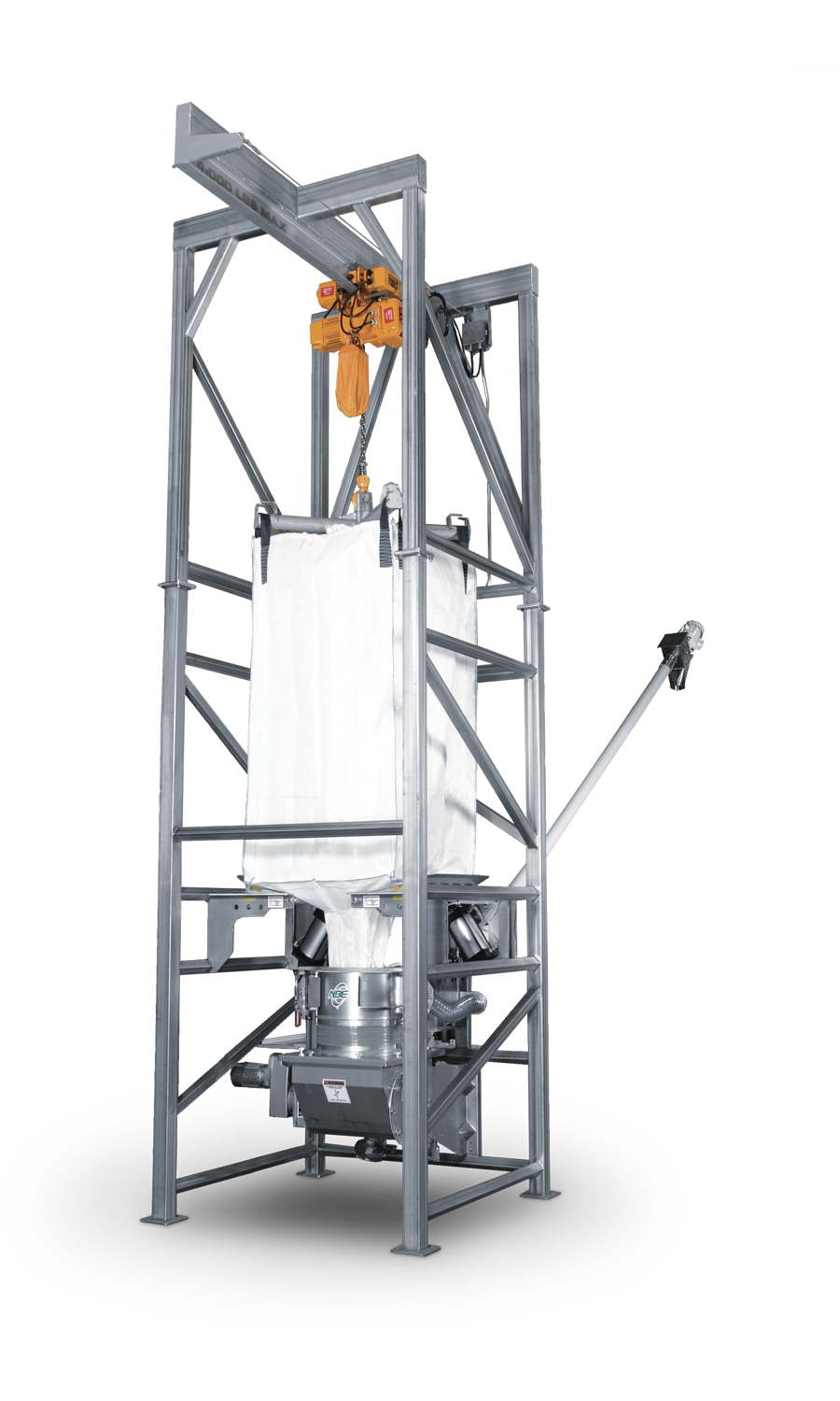Bulk Bag Unloader System From National Bulk Equipment