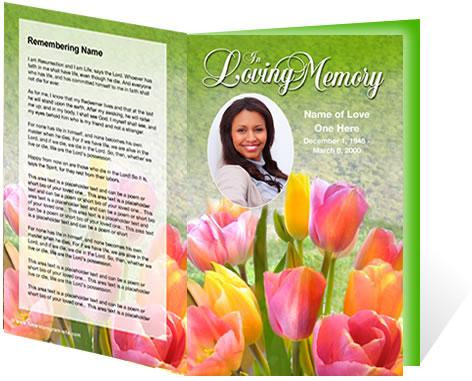 New Funeral Program Customization Services Create Lasting Memorials ...