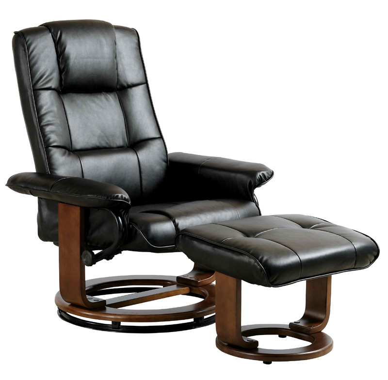 7292 Series Leatherette Recliner From Comfort Chair Collection ...