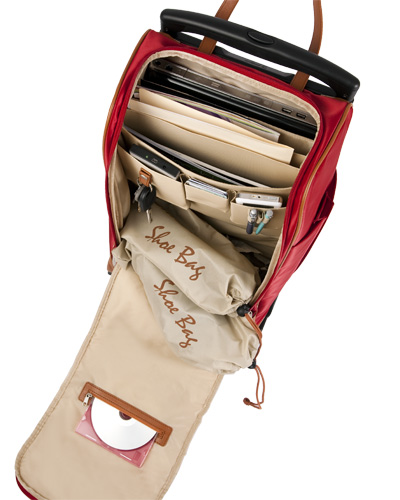 Got Back Pain Consider A Laptop Rolling Tote That Carries