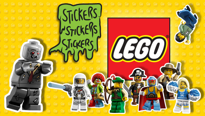 Create Custom Lego Stickers