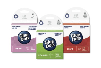 Glue Dots New Brand Identity Defines Its Products As Everyday