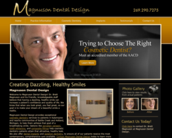 cosmetic, dentist, dentistry, Kalamazoo, MI, give, back, smile, AACD
