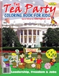 Teach kids all about the origins of the Tea Party and what it all involves. A very pleasant song, coloring and activity book.