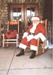 Rate Photograph of Santa Claus on Break from North Pole Manufacturing