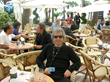 Boris Acosta at the Ritz Carlton hotel during the Cannes Film Festival