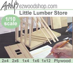 Scale Wood Lumber at EZwoodshop.com Gives DIY Newbie ...