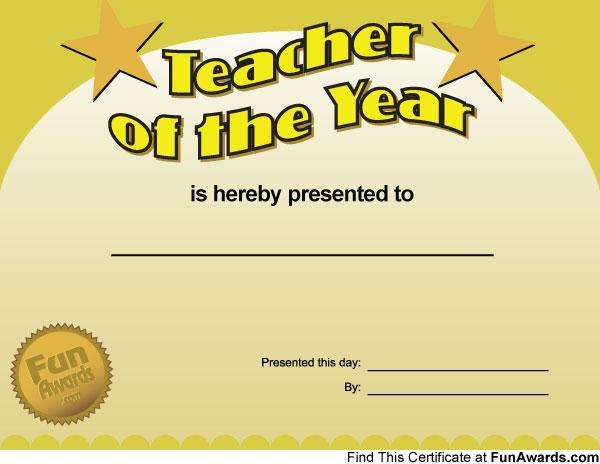 award press release template - funny teacher awards printable award certificates for
