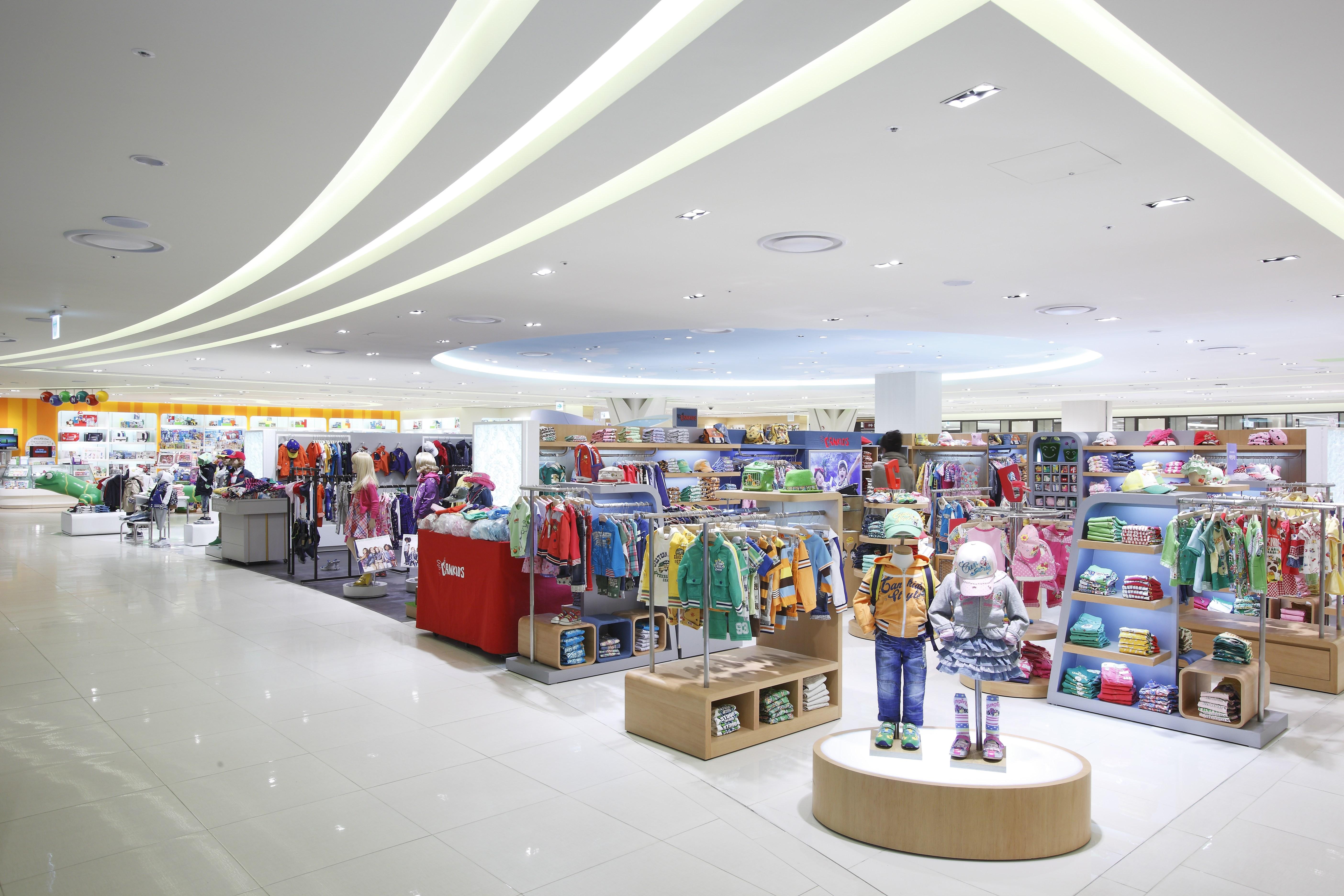Shinsegae Department Store In Incheon, South Korea. Interior Design By  Barriscale Design Studio.Kids Retail Floor ...