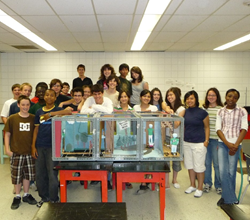 Hardent Electronic Design Services supports ISPAJES high school engineering