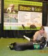 "K9 visits ""Ultimate K9 Grass"" booth in Asheville, North Carolina"