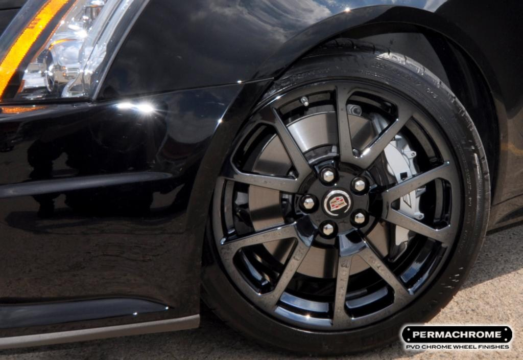 Pvd Black Chrome Wheels If They Re Good Enough For Bmw