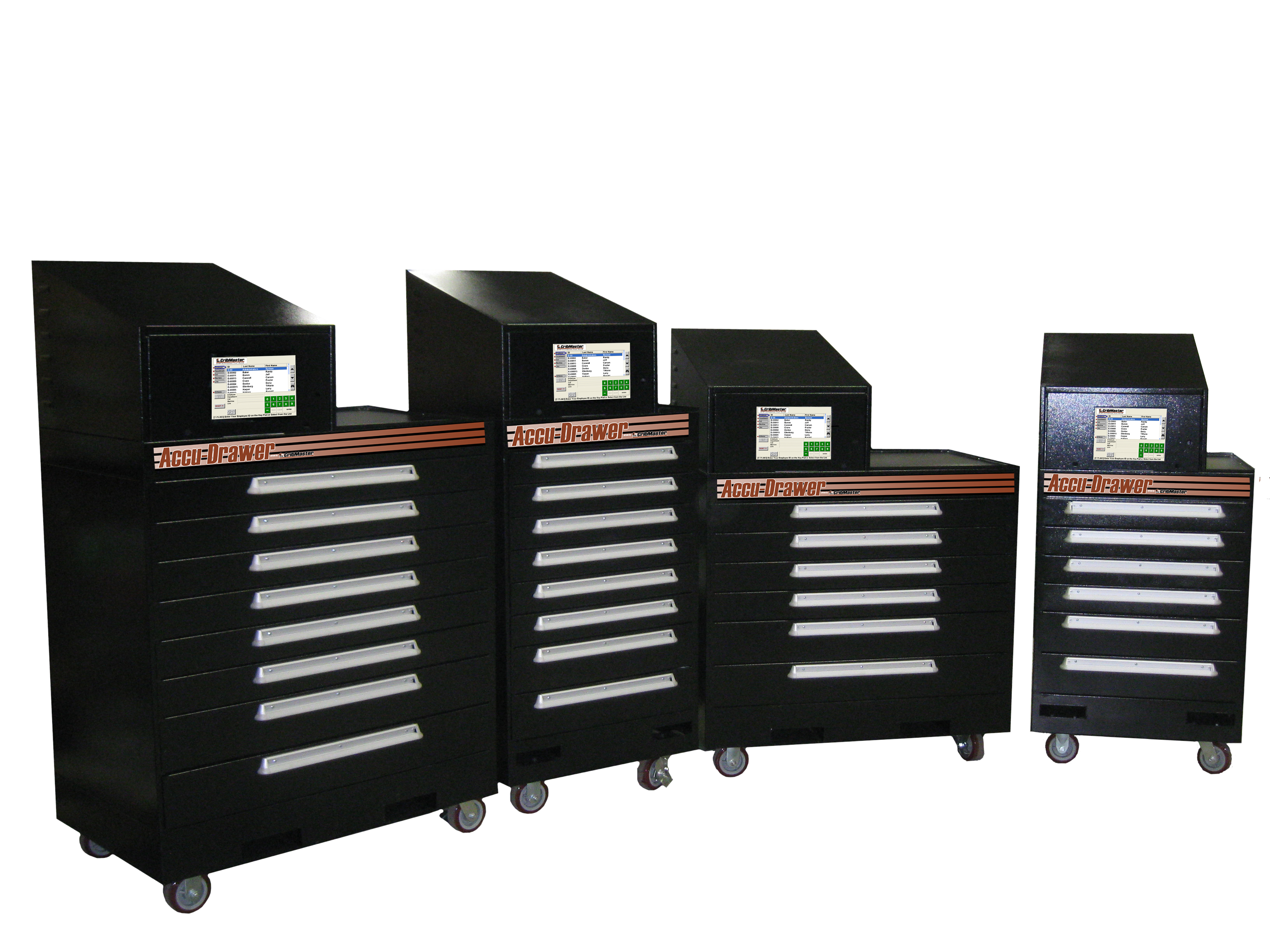 Cribmaster Showcases Complete Rfid Tool Control System At