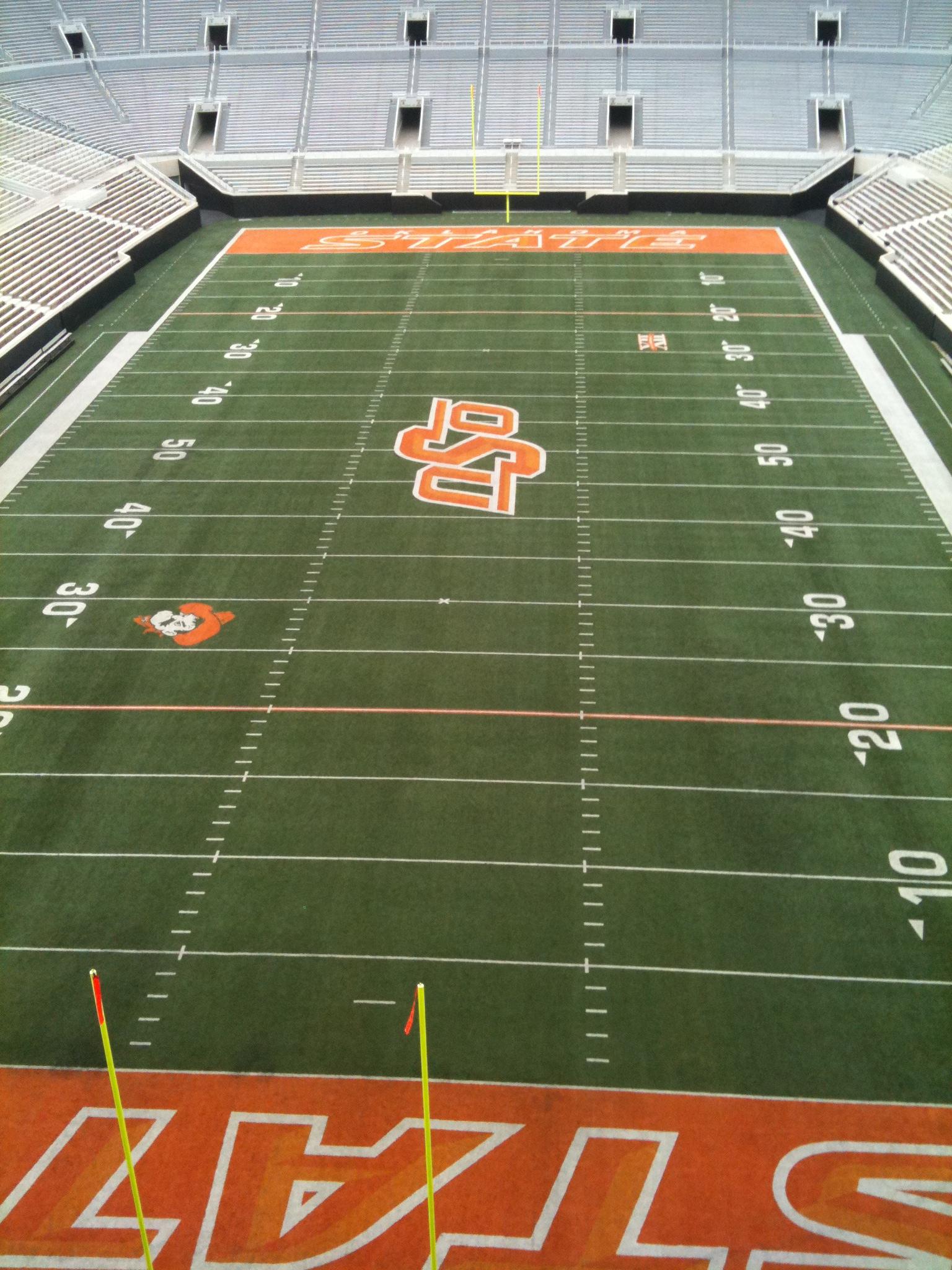 Oklahoma State University T. Boone Pickens Stadium ...
