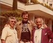 Dawn of the Dead Director George A. Romero and Executive Producers Herbert R. Steinmann and Billy Baxter in CANNES
