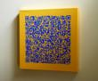An example of Barcode Gallery's Barcode-on-Canvas product.