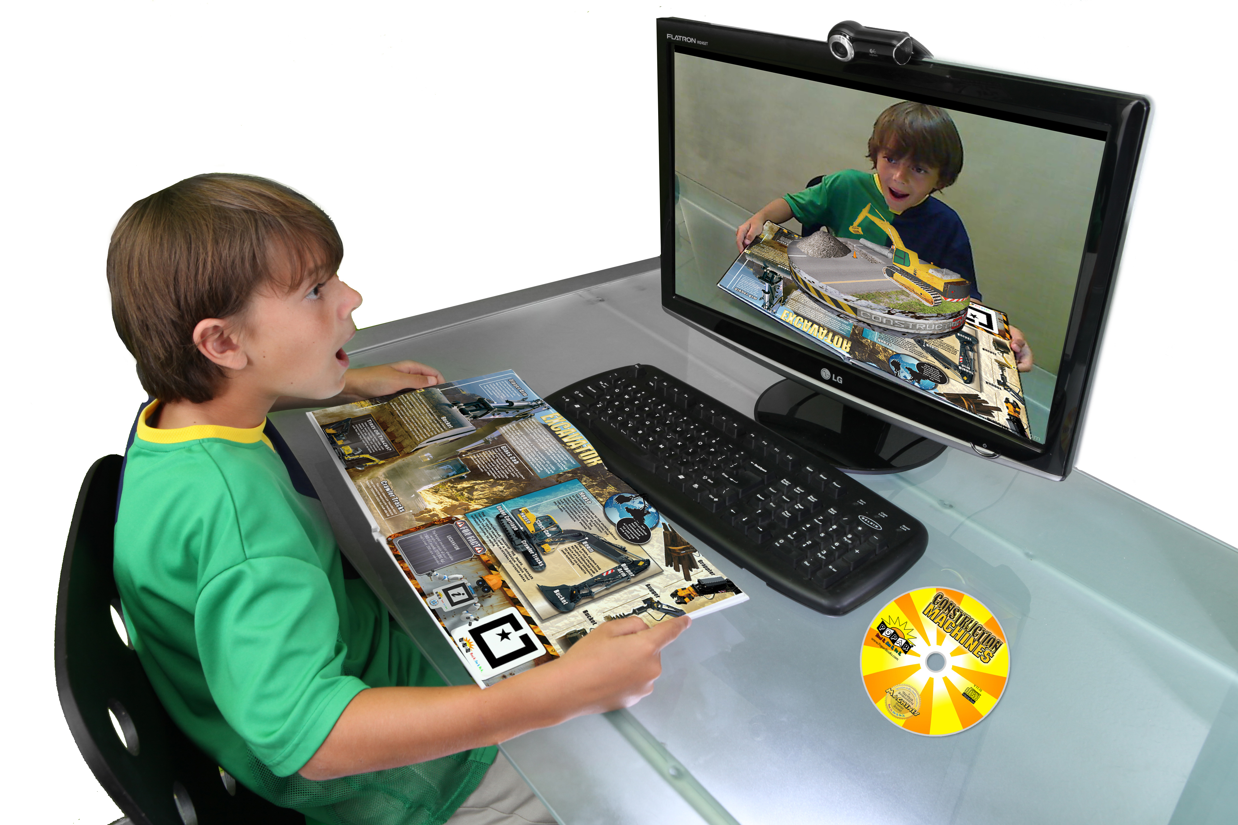 3 D Interactive Augmented Reality Children S Book Series