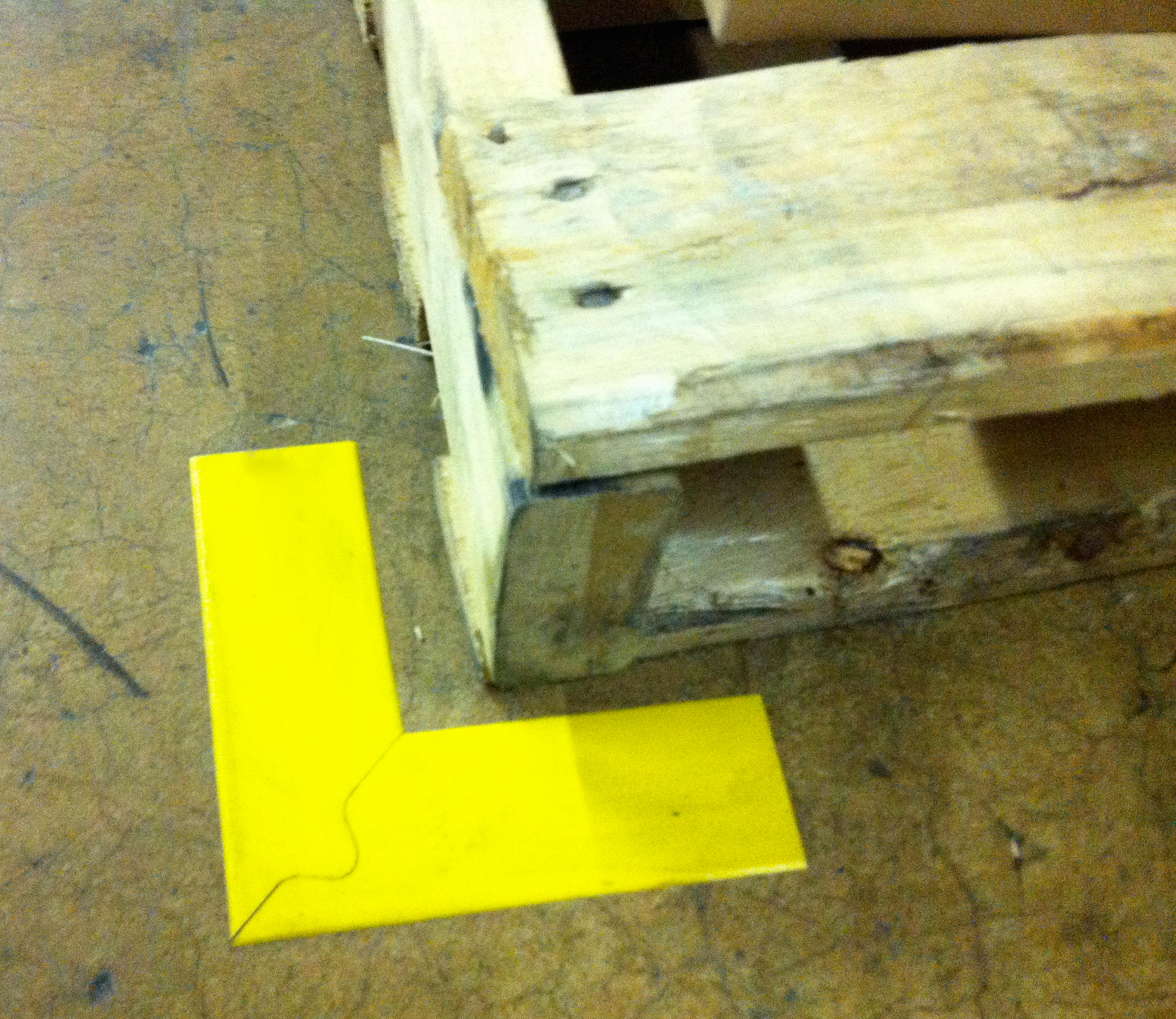 Stop Painting Improves Design Superior Mark Corner Creating The First Puzzle Cut Mitered