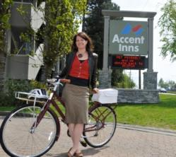 "President of Accent Inns launchs Bike Friendly Hotel ""Bike Love"" program"